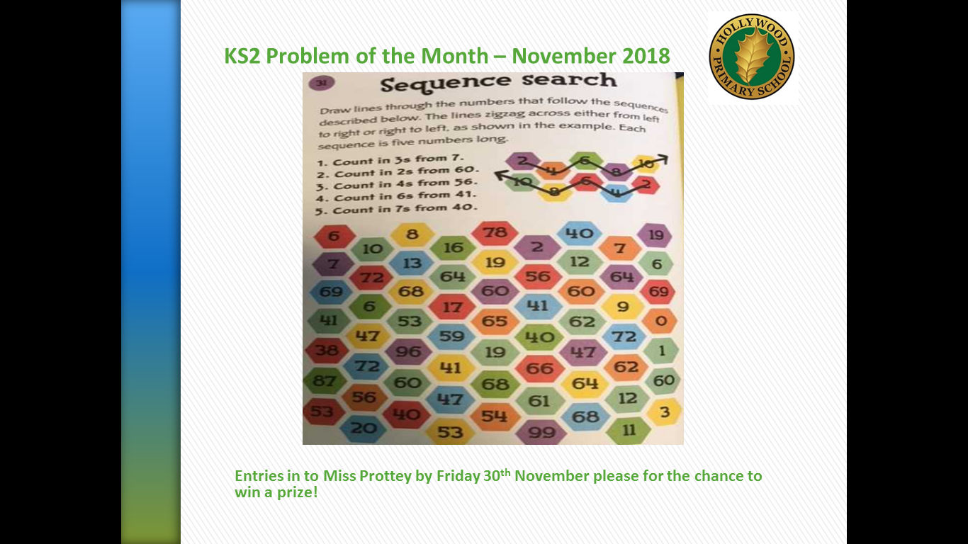 KS2 Maths Problem of the Month