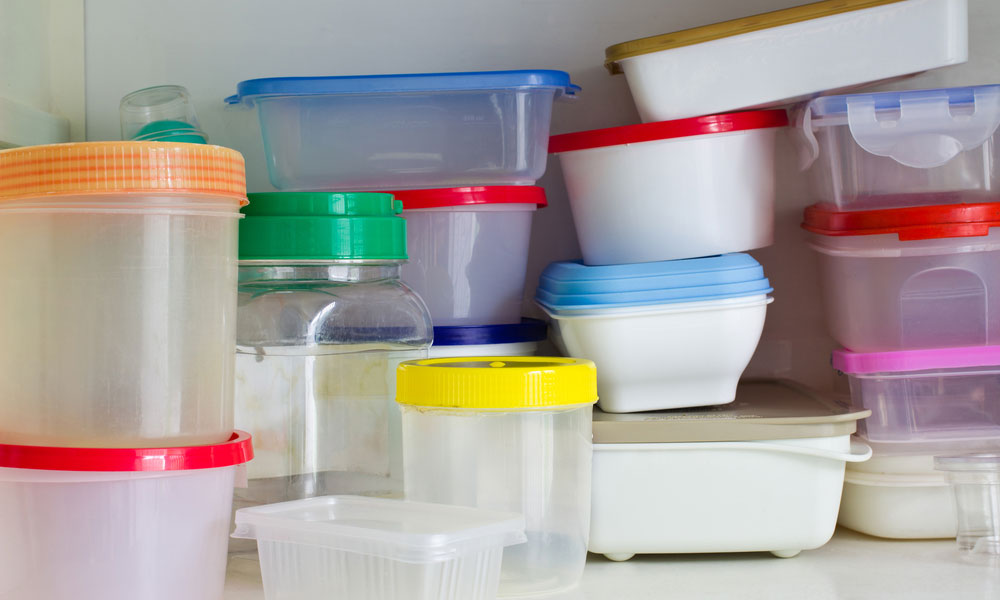 Save Your Plastic Containers