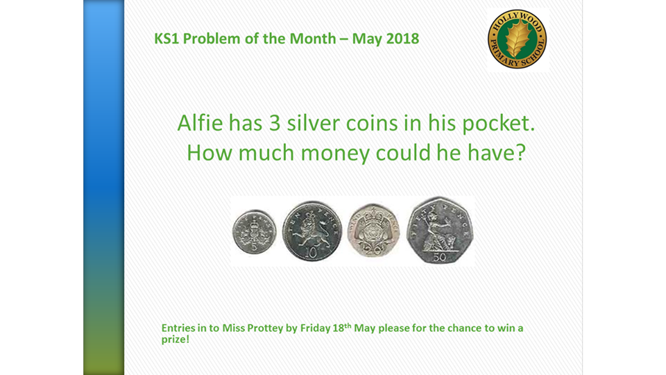 May's KS1 Problem of the Month