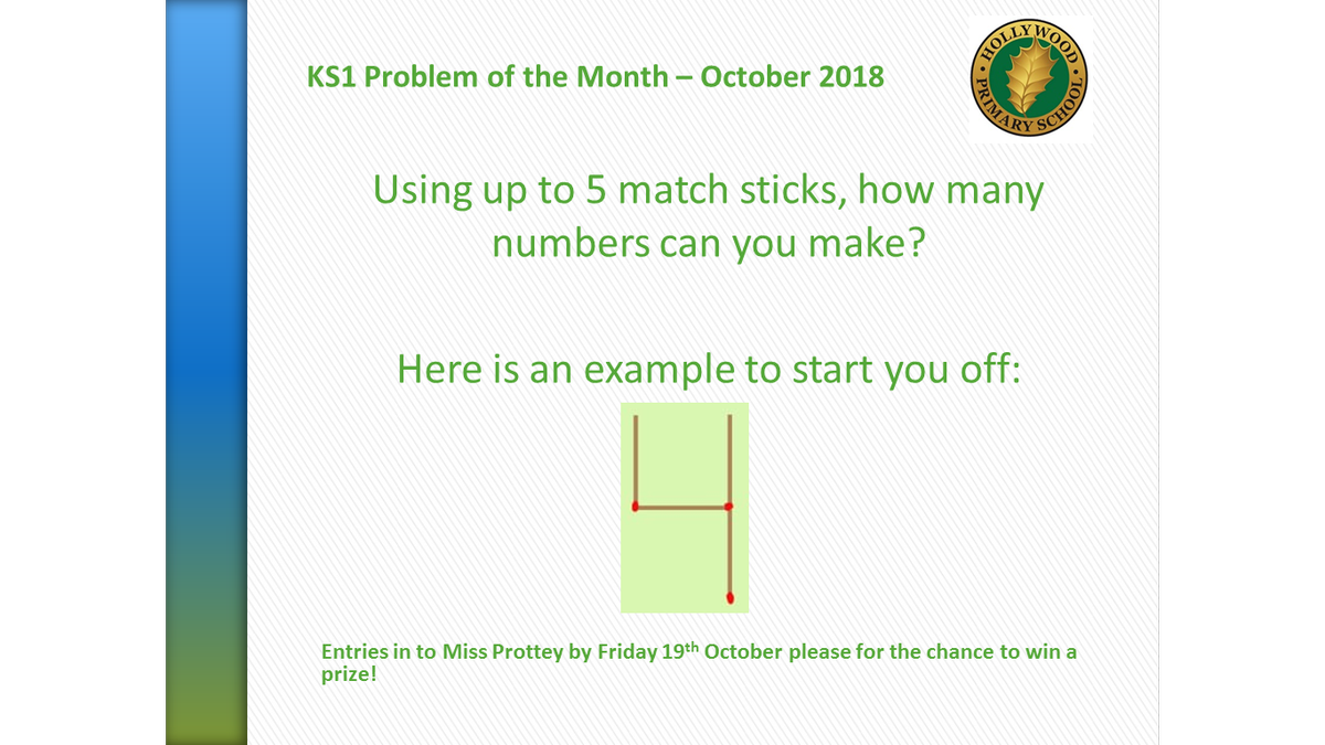 KS1 Problem of the Month
