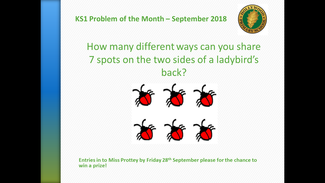 KS1 Problem of the Month